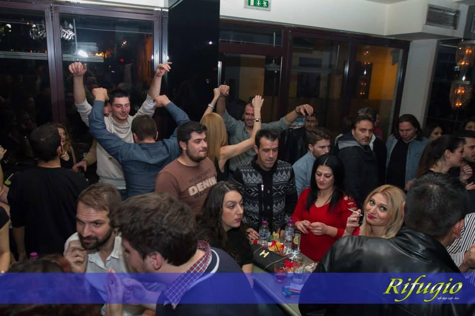 Ξεσήκωσαν το Rifugio Α.Καζαντζίδης και Σ.Αλεξανδρίδης το βράδυ της Παρασκευής 21 Νοεμβρίου