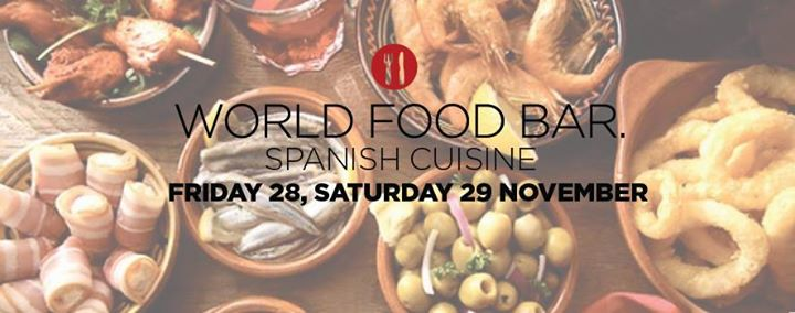 T26 Coffee Bar  Κοζάνη: WORLD FOOD BAR : España, Παρασκευή 28 & Σάββατο 29