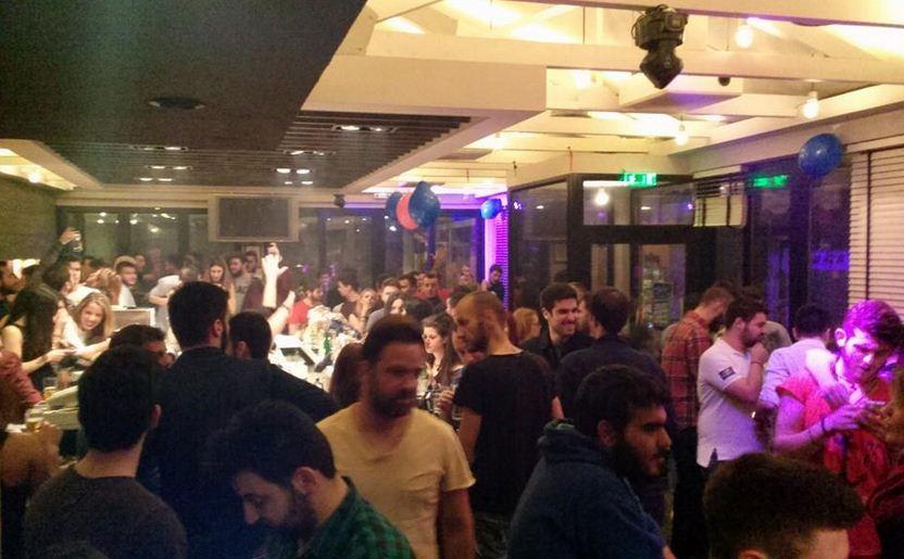 Οι πρωτοετείς του τμήματος Διοίκησης Επιχειρήσεων του ΤΕΙ Δ. Μακεδονίας, το βράδυ της Τρίτης 25/11, πήγαν …Co.Co Bar