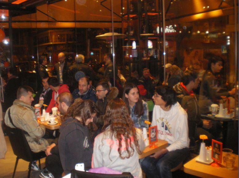 Φωτογραφίες από τα εγκαίνια του νέου  καταστήματος  «Mikel spot» στην Κοζάνη