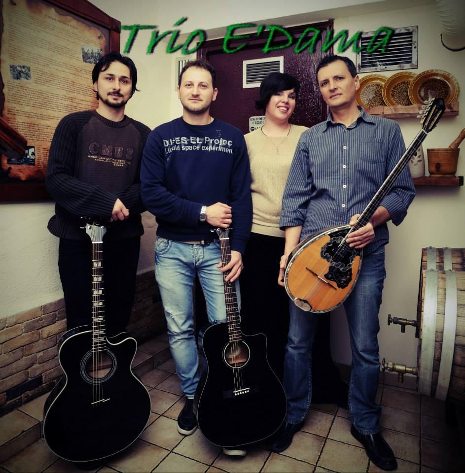 "Live βράδια με τους «Trio e"" dama»στο Απόμερο στην Κοζάνη, το Σάββατο 29 Νοεμβρίου"