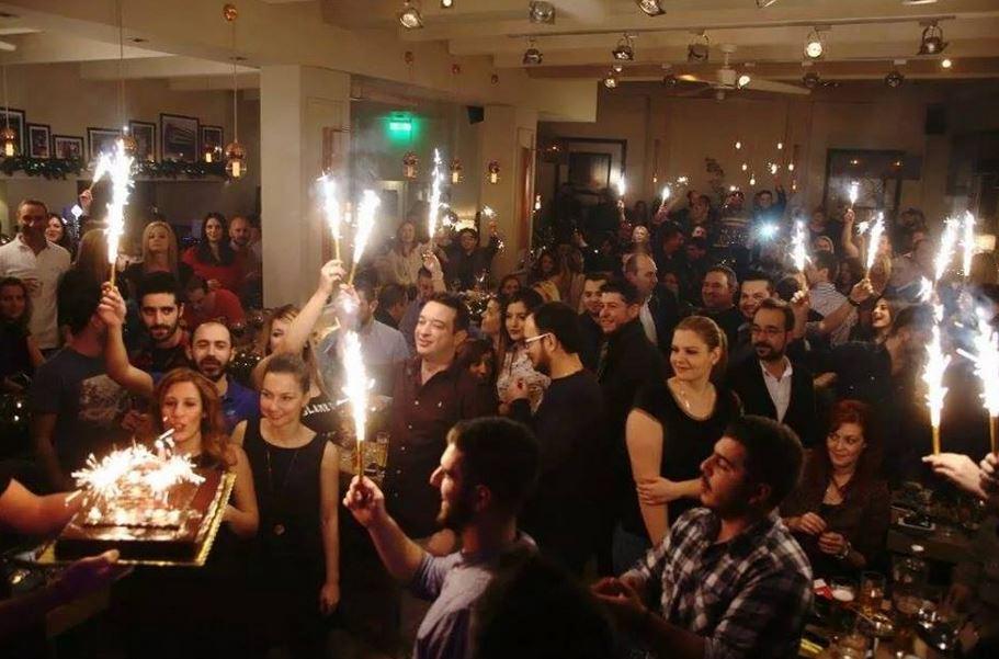 Ένα χρόνο λειτουργίας γιόρτασε, την Κυριακή 21 Δεκεμβρίου, το cafe bar TimeSquare στην Κοζάνη