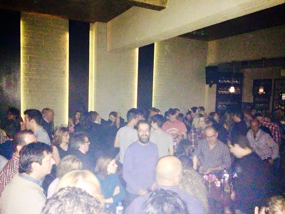 Η επιτυχημένη παρουσία του Παντελή Μόσχογλου   στο Bolero cafe bar στο Τσοτύλι, το Σάββατο 24 Ιανουαρίου