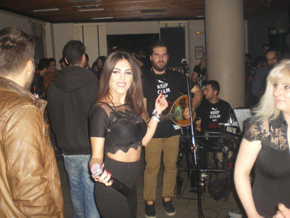 Ξεσήκωσε το Co.Co bar στην Κοζάνη η Εβίτα,  το Σάββατο 24 Ιανουαρίου