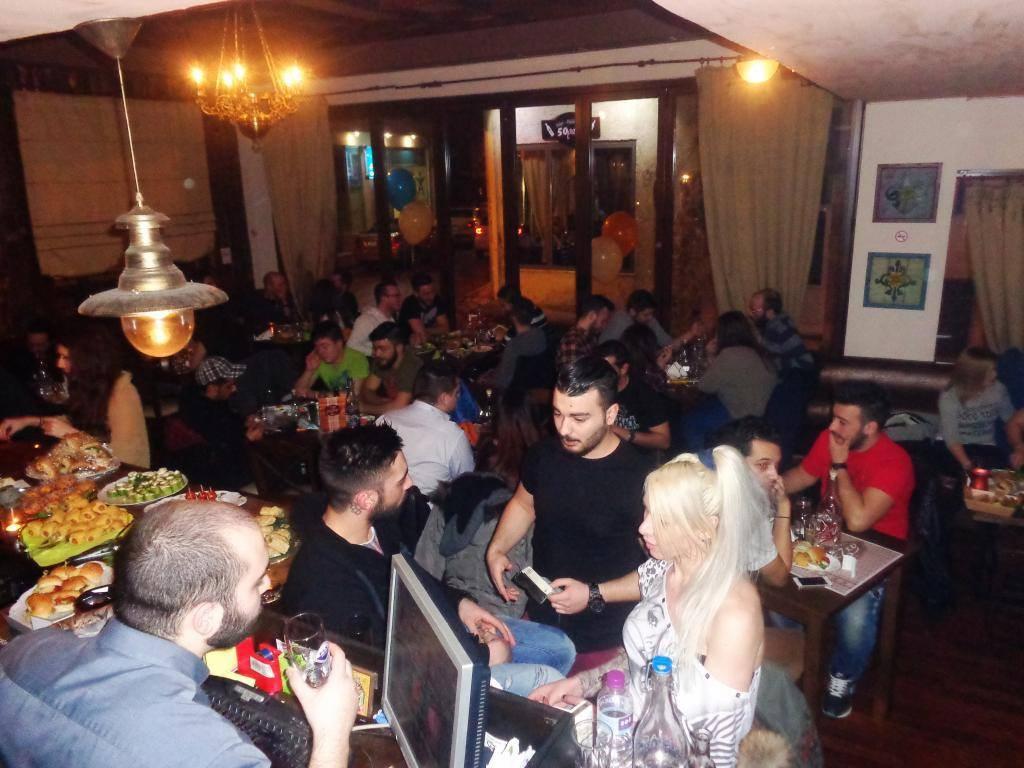 Το καφέ μεζεδοπωλείο ΜεΖεν στην Κοζάνη την Παρασκευή 27/2, γιόρτασε ένα χρόνο λειτουργίας-Φωτογραφίες