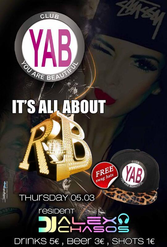 YAB Club Φλώρινα: It's all about R&B, την Πέμπτη 5 Μαρτίου