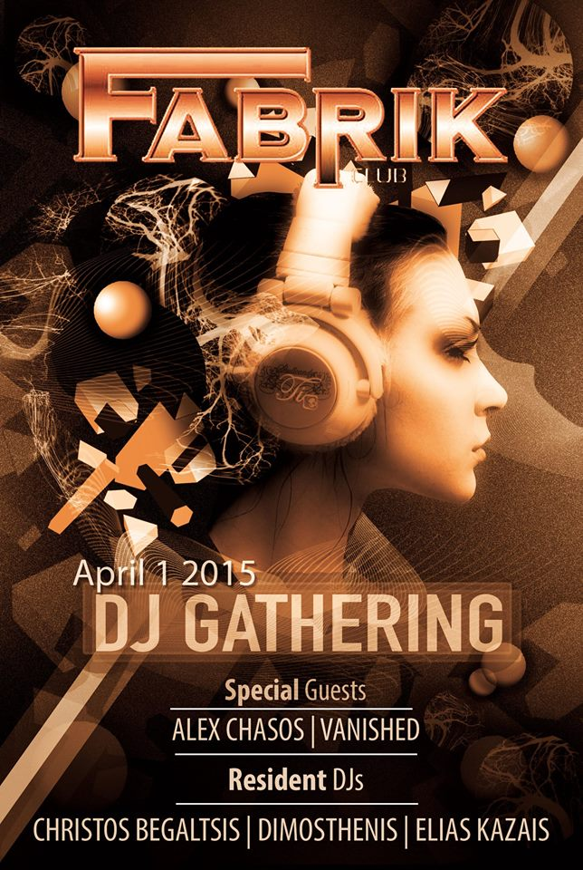 Dj Cathering @ Fabrik club στην Φλώρινα, την Τετάρτη 1 Απριλίου
