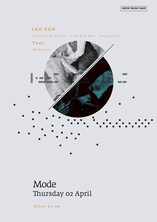 Mode bar kozani:Leon son & Toni,  την Πέμπτη 2 Απριλίου