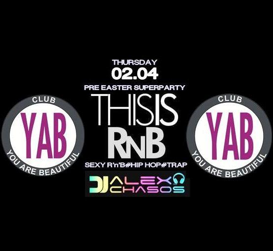 YAB Club Φλώρινα: «This is RNB», την Πέμπτη 2 Απριλίου