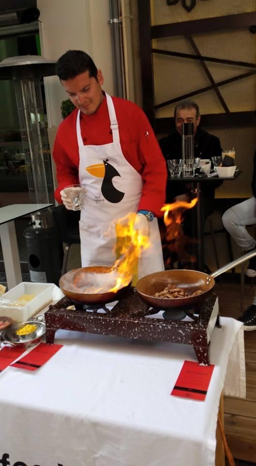 Φωτογραφίες από το Street Food Event  του Garderoba στην Κοζάνη, με θέμα την Μαροκινή  Κουζίνα