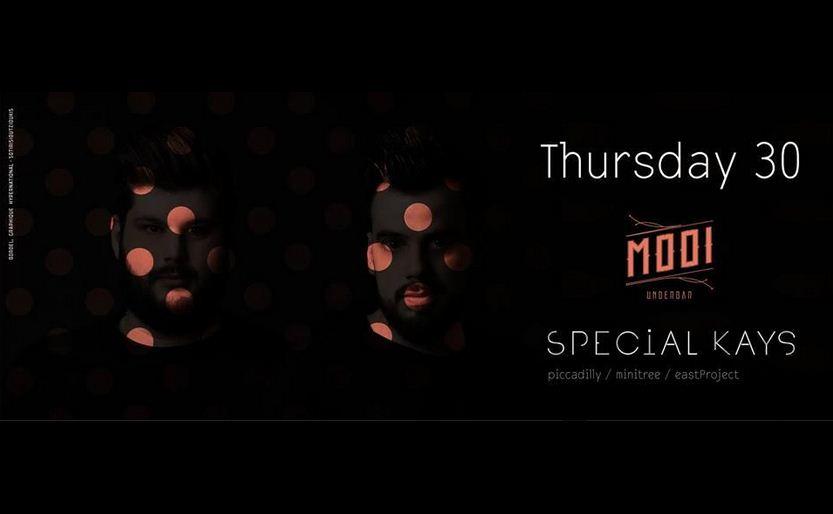 Special Kays @ MOOI underbar στην Κοζάνη,  την Πέμπτη 30 Απριλίου